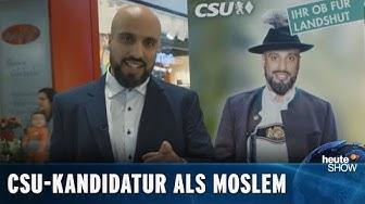 Kann ein Moslem in Bayern Bürgermeister werden? (Abdelkarim) | heute-show vom 13.03.2020