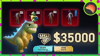 SPENDING $ 35,000 UC On NEW Godzilla | PUBG MOBILE