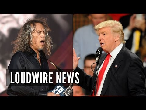 Metallica's Kirk Hammett Makes Bold Prediction About Trump Presidency