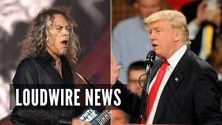 Metallica's Kirk Hammett Makes Bold Prediction About Trump Presidency