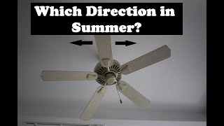 Ceiling Fan Rotation Direction for Summer Heat