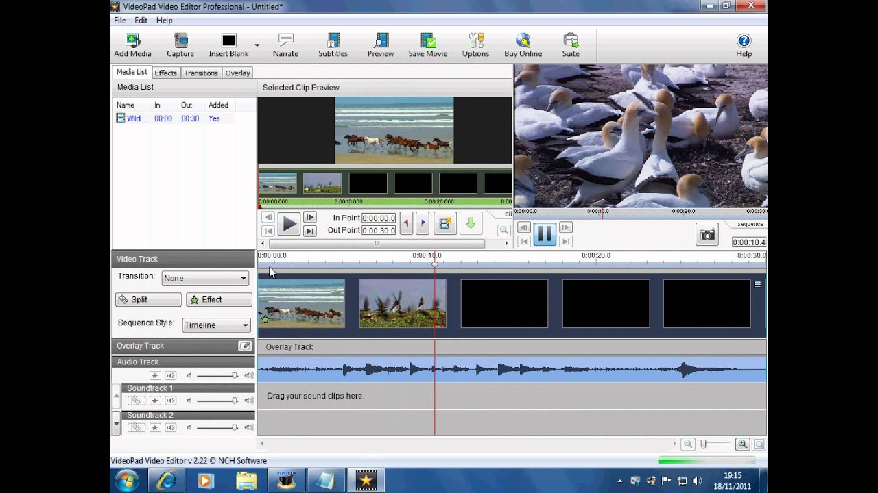 Video Pad Video Editor Slow Motion Tutorial - YouTube