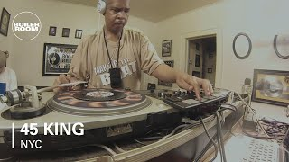 45 King Boiler Room NYC DJ Set