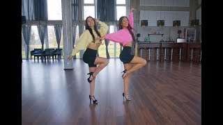 Dance with Zazou : Tusa - KAROL G , Nicki Minaj (Heels Dance Tutorial)