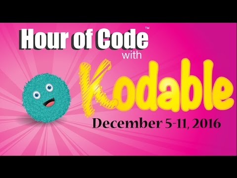 Hour of Code 2016 with Kodable