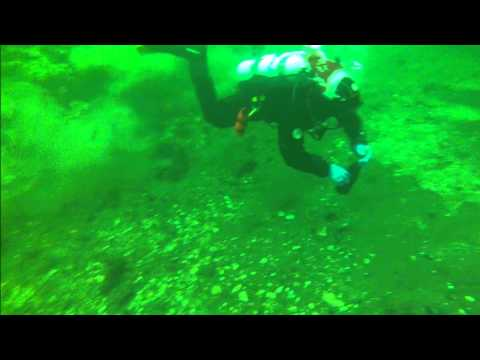 New years eve diving