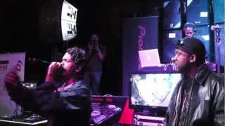 DJ JAZZY JAY, KRS ONE, SUN ONE, AND PERCEE P LIVE @ GUITAR CENTER 11/1/12