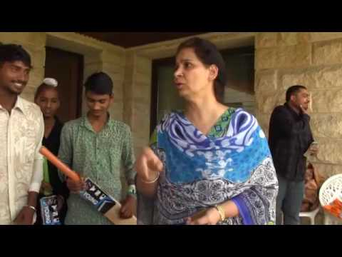 Young sports club register bat distribution in Amritsar