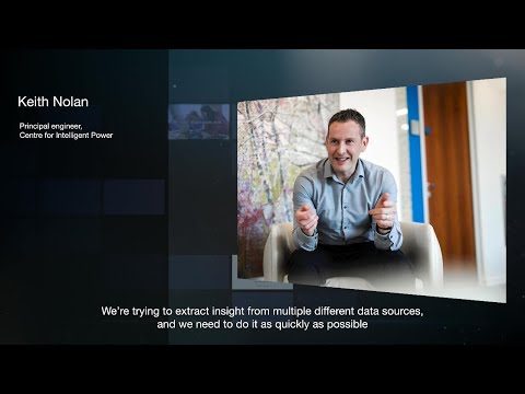 Hear how were harnessing the power of data