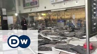 В Брюсселе прогремели взрывы в аэропорту и метро(Взрывы произошли как в метро Брюсселя, так и в международном аэропорту. Сообщается, что более десяти челове..., 2016-03-22T10:33:07.000Z)