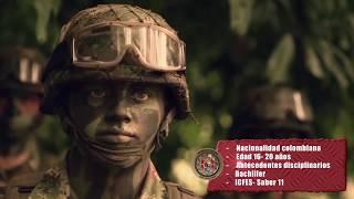Incorporación  Ejército Nacional de Colombia