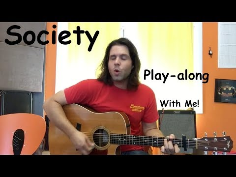PLAY-ALONG WITH RYAN! Society By Eddie Vedder Cover