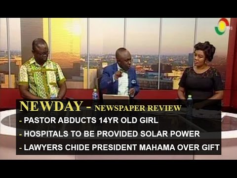 Hospitals to be provided solar powers - Newspaper Review - 17/6/2016