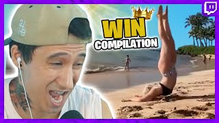 Ju reagiert auf WIN COMPILATION - Was macht sie da?? | Julien Bam Twitch Highlight
