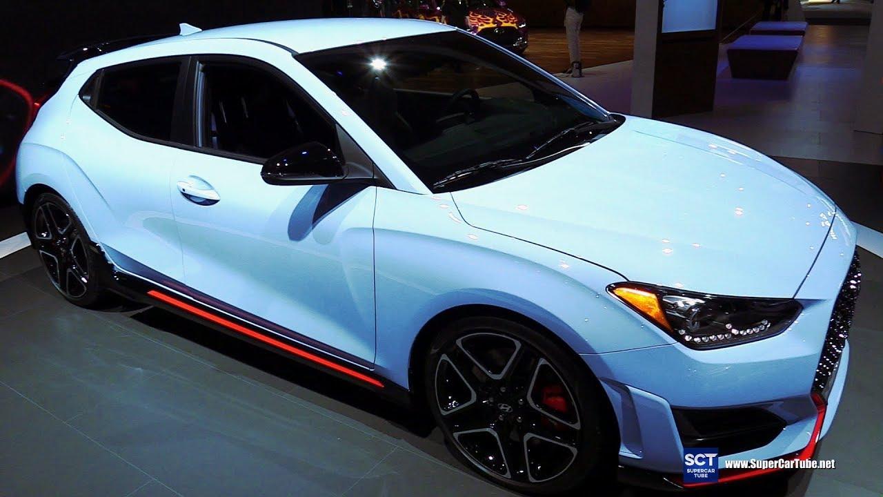 2018 Hyundai Veloster N Performance Exterior Interior Walkaround