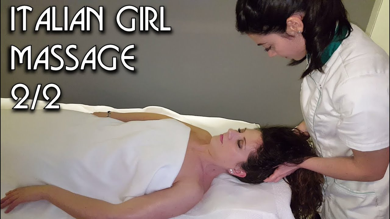 Italian Girl Massage Asmr No Talking Video
