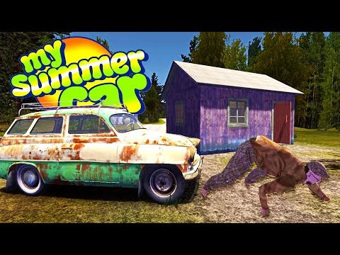 MY NEW SUMMER HOUSE! WE WON THE GAMBLING DEN IN A BET! - My Summer Car Gameplay Highlights Ep 91