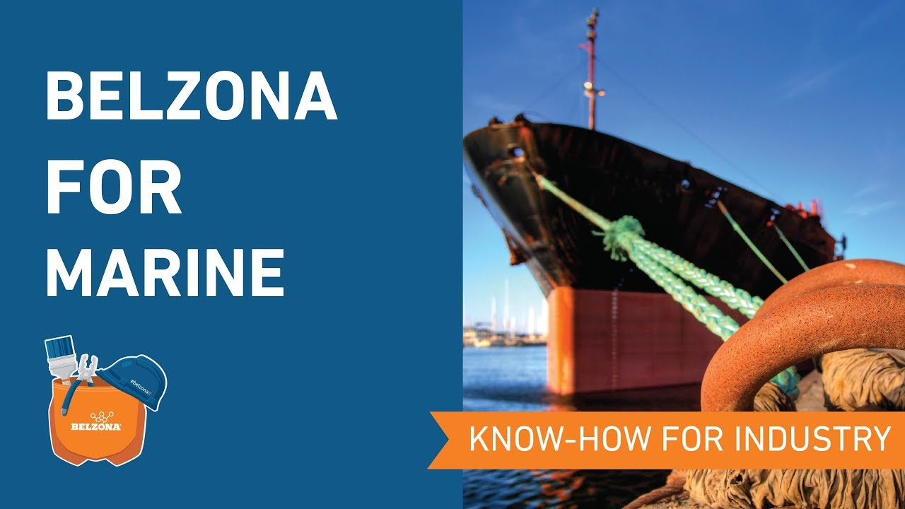 Belzona metal repair composites and coatings for the Marine Industry