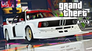 GTA V : FUGA ÉPICA DA POLICIA DE BMW 320i GROUP5 : GTA 5 MODS
