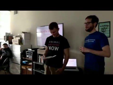 Confronting Bill Clinton - Matt Johnson and Zach Groff