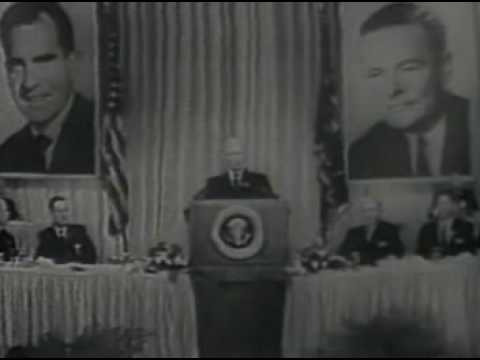 Nixon - Eisenhowers Support 1960 Election Ad