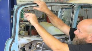 How to Remove Rear Door Glass, 4-Door Sedan | Danchuk USA