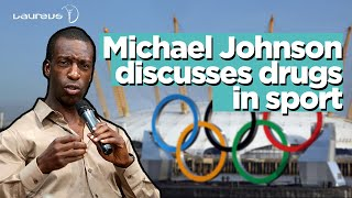 Michael Johnson talks about drugs in sport ahead of the Olympic Games in London