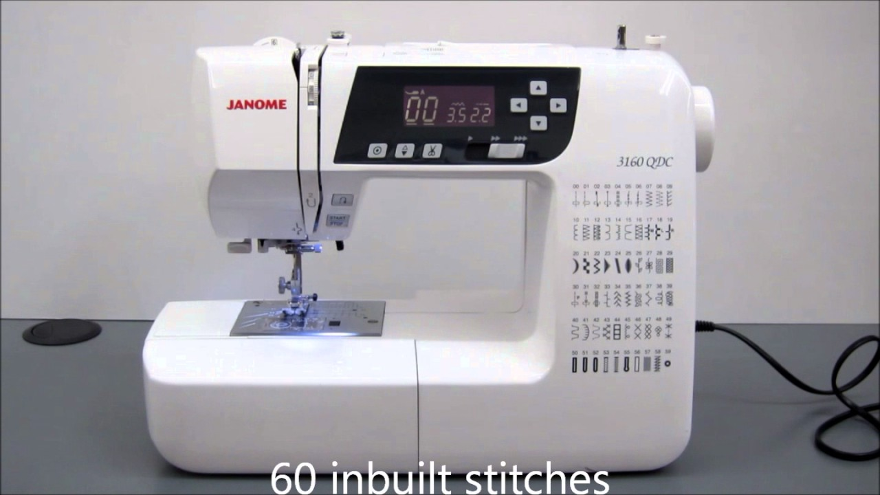 janome 3160 sewing machine