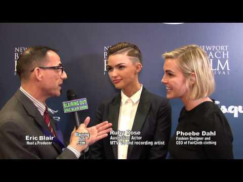 Ruby Rose / Phoebe Dahl Talk Same-sex Marriage W Eric Blair