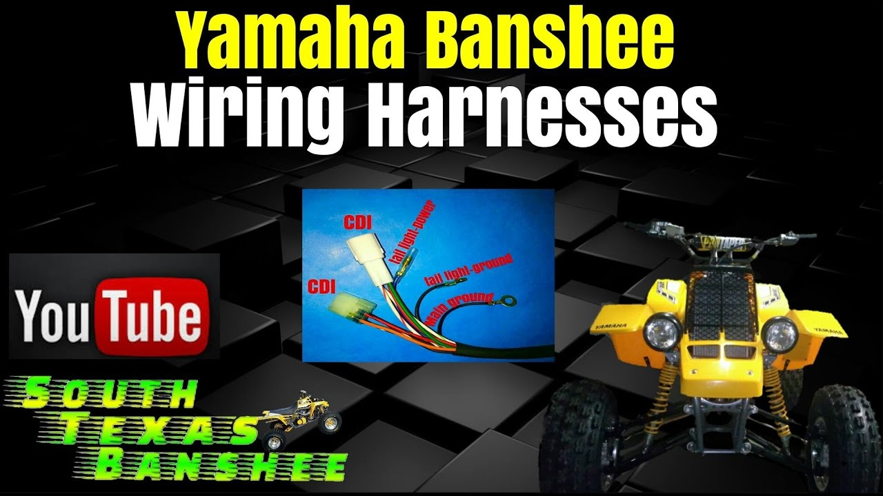 for sale yamaha banshee replacement harnesses youtube banshee wiring harness for sale yamaha banshee replacement harnesses [ 1280 x 720 Pixel ]