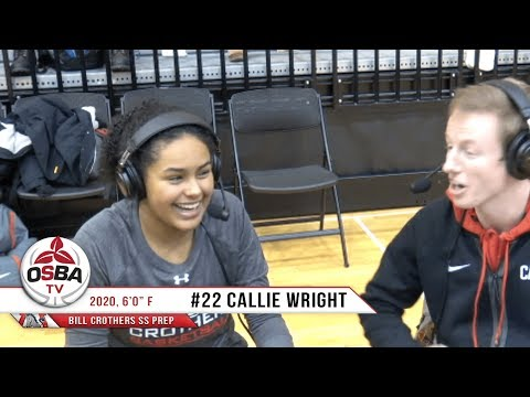 Bill Crothers' 2020 F Callie Wright