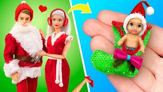 10 DIY Baby Doll Hacks and Crafts / Miniature Baby, Blanket, Sled and More!