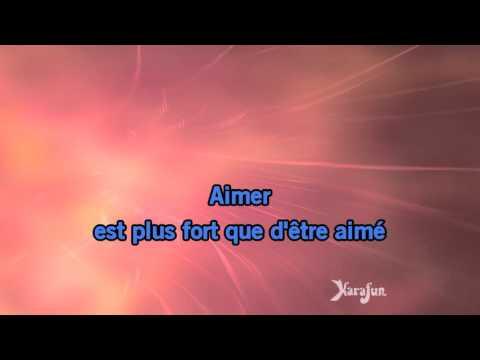 Karaoké Aimer est plus fort que d'être aimé - Balavoine(s) *