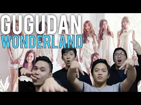 GUGUDAN | WONDERLAND MV Reaction [4LadsReact]