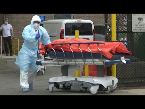 AFP: Coronavirus: New York se prépare à un terrible moment