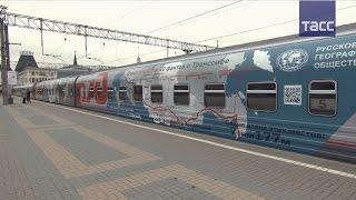 В честь 100-летия Транссиба по магистрали запущен юбилейный поезд(РЖД и