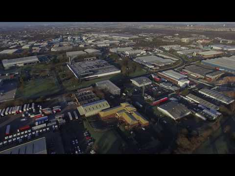 Bellshill Scotland from the Air Jan 3rd 2019