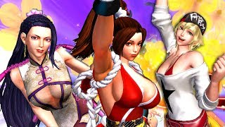 The King of Fighters XIV : PC 4K Gameplay Steam Edition (Ultra Settings)
