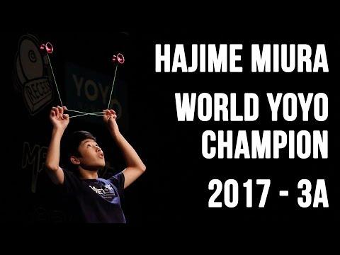 Hajime Miura - 3A Final - 1st Place - World Yoyo Contest 2017