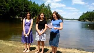 The Baptism of Shaylynn, Sylvia, and Adalaine