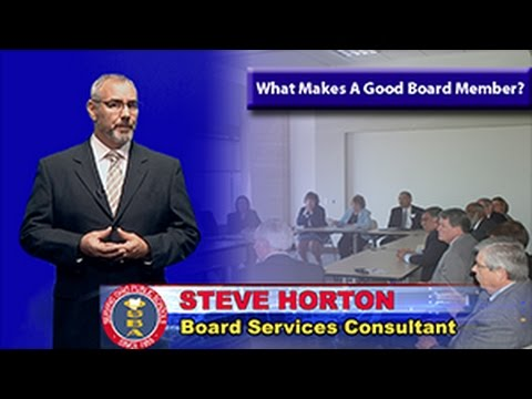 What Makes A Good Board Member?