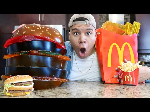Thumbnail: DIY GIANT GUMMY McDONALD'S! (100+ LBS)