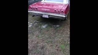 1965 Impala SS Convertible Idling.