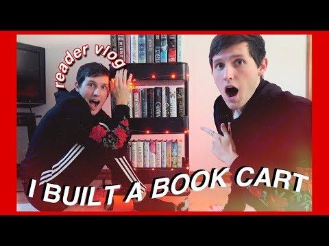 BUILDING A BOOK CART | READER VLOG