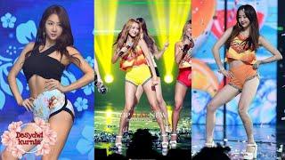 Sistar(씨스타) ㅡ Touch My Body(터치 마이 바디) 교차편집(Stage Mix)
