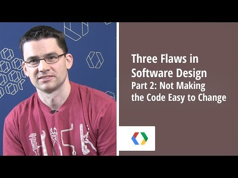 Three Flaws in Software Design - Part 2: Not Making the Code Easy to Change