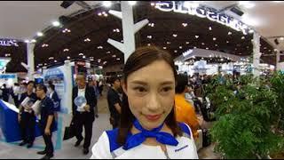 【360°VR動画】CEATEC JAPAN2017 パナソニックブース かわいい動きの