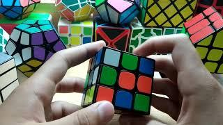 1 урок. Кубик Рубика для начинающих