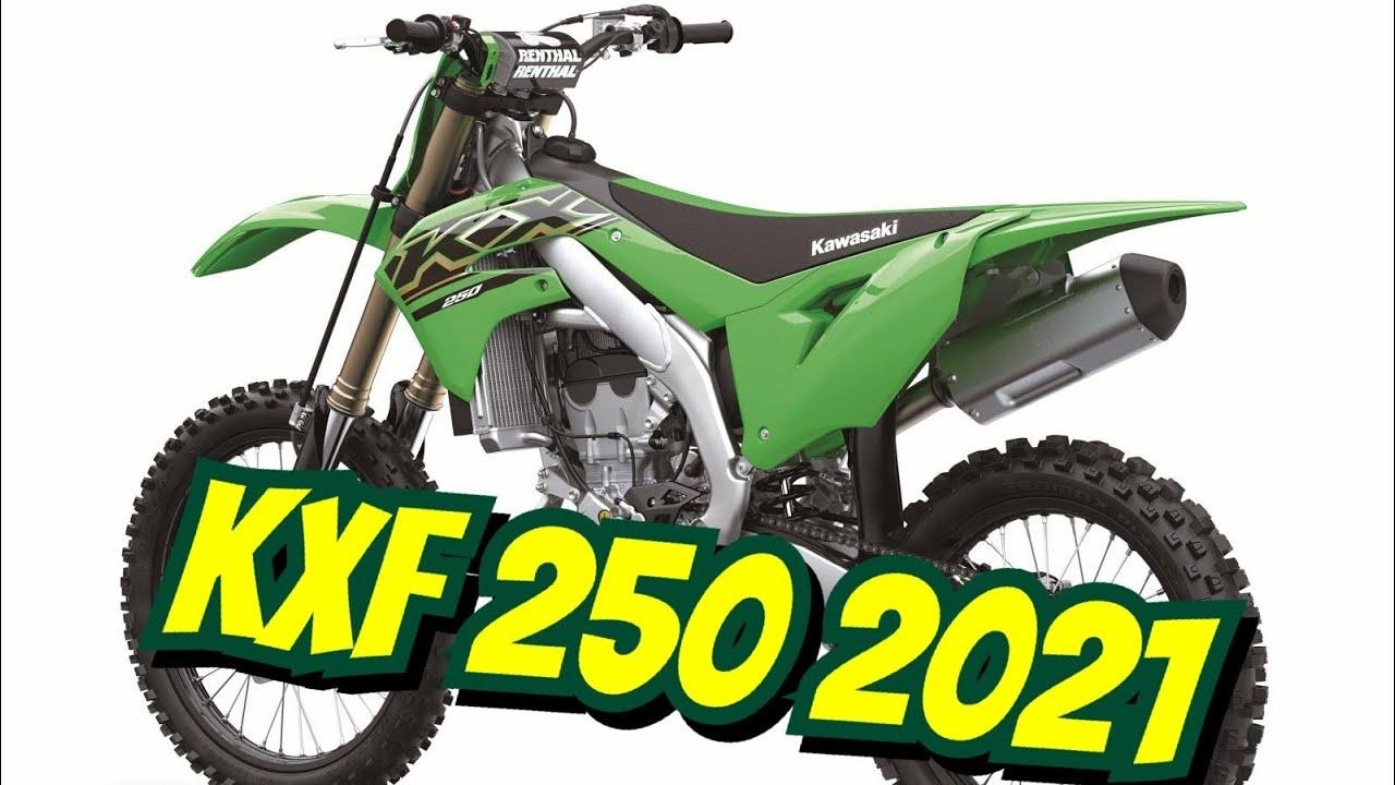 KAWASAKI KXF 250 2020 250 cm3   moto cross   0 hr   Vert