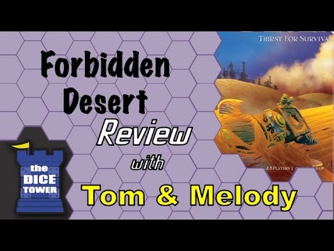 Forbidden Desert Review - With Tom And Melody Vasel
